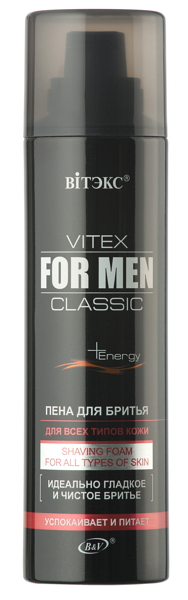 Vitex for men classic_Пена для бритья